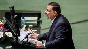 علیرضا آوایی، وزیر دادگستری ایران - تصویر آرشیوی