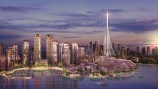 迪拜力将建成新的世界最高建筑
