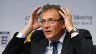 O secretário-geral da FIFA, Jérôme Valcke.