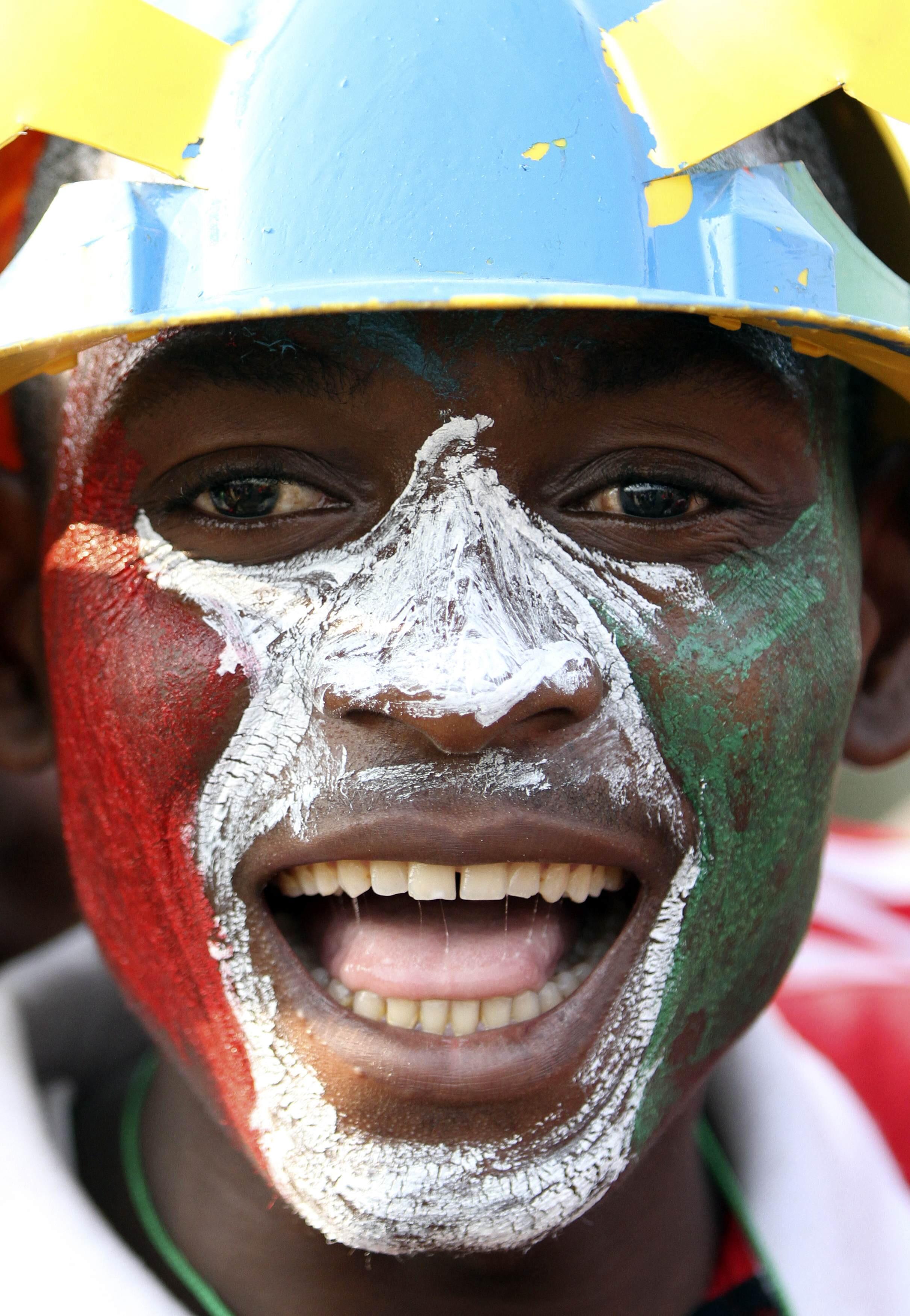 Les supporters de la Guinée équatoriale vont encore se faire entendre dans le stade.