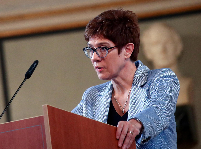 Annegret Kramp-Karrenbauer, la dirigeante de la CDU, le 6 juin 2019 à Munich.