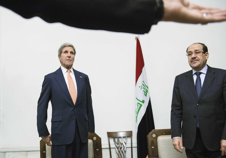 Встреча в Багдаде Джона Керри и Нури аль-Малики 23/06/2014