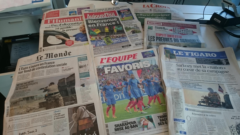 Diários franceses 09.06.2016