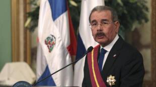 Le président Danilo Medina en novembre 2015.
