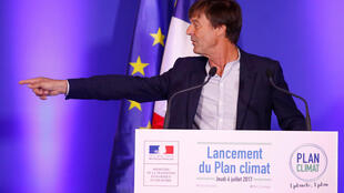 Министр комплексных экологических преобразований Франции Николя Юло, 6 июля 2017 г.