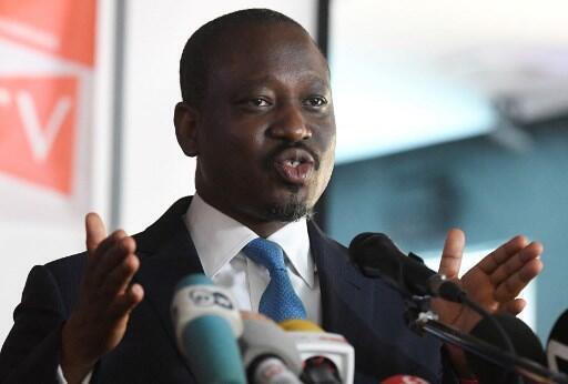Guillaume Soro le 15 février 2019 à Abidjan.