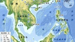 图为南海地图
