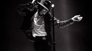 Michael Jackson en 1995.