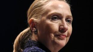 L'ex-secrétaire d'Etat américaine Hillary Clinton, le 6 décembre 2012