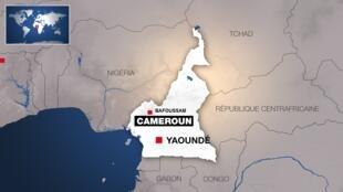Bafoussam, dans l'ouest du Cameroun.