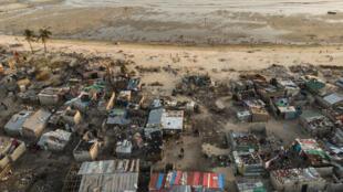 Des bâtiments détruits par le cyclone Idai, non loin de Beira (image d'illustration).