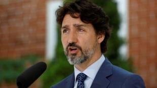 Le premier ministre canadien, Justin Trudeau, à Ottawa, le 22 mai 2020