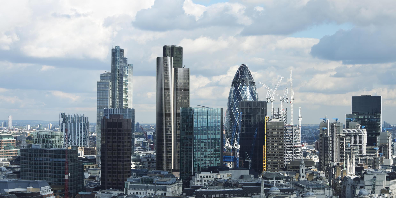 Vue de la capitale britannique, Londres.