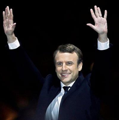 Raisi mteule wa Ufaransa Emmanuel Macron