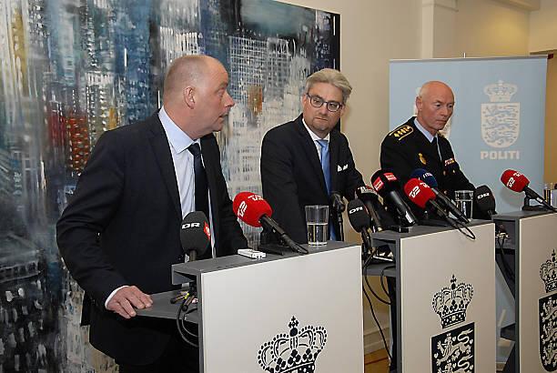 فین بورک رئیس سازمان امنیت دانمارک، وزیر دادگستری و یک کمیسر پلیس دانمارکی
