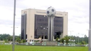 Sede da Conmebol, a Confederação Sul Americana de Futebol, em Assunção, no Paraguai.