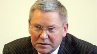 Le magistrat allemand Detlev Mehlis fait partie des personnes concernées par le mandat d'arrêt syrien