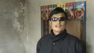 Luật sư mù Trần Quang Thành