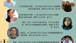 """""""709大抓捕事件""""李姝云律师资料图片"""