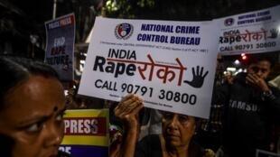 Inde Manifestation Contre viol