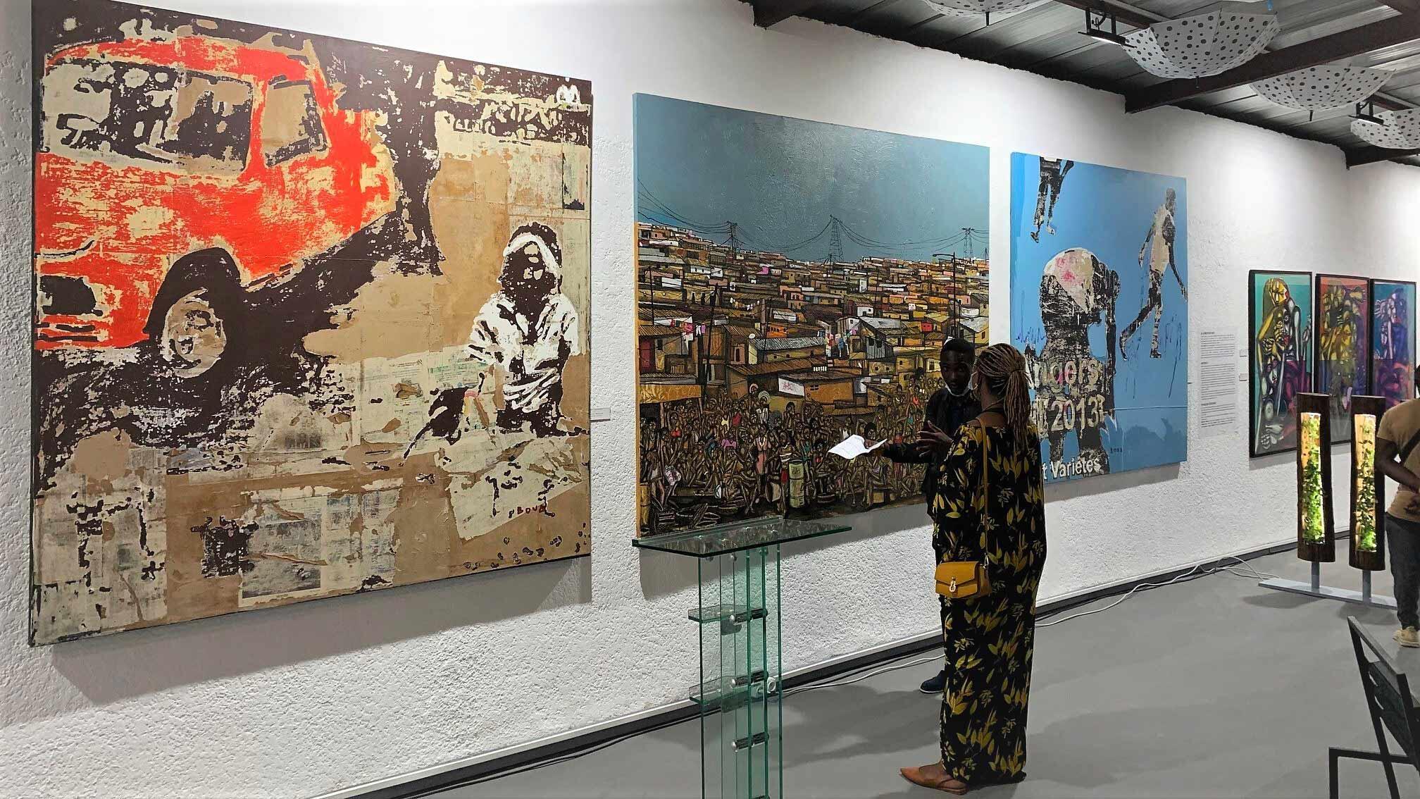 SLSP- SLSP - «Abidjan est zo» artiste Afrique Côte d'Ivoire arts contemporain