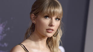 Nữ ca sĩ Taylor Swift tại Giải thưởng Âm nhạc Mỹ (American Music Awards), tổ chức ở Los Angeles, Mỹ, ngày 24/11/2019.