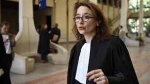 L'avocate Marie Dosé, à la Cour d'Assises de Créteil, le 26 juin 2018.