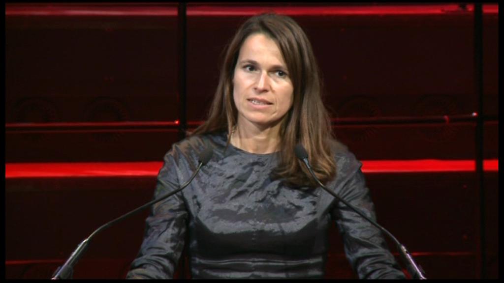 Culture minister Aurélie Filippetti