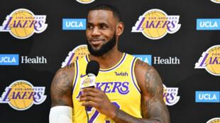 Le basketteur américain LeBron James.