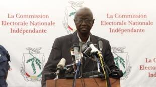 Ben Sekou Sylla, président de la commission électorale en Guinée.