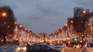 Champs Elysées, đại lộ đẹp nhất Paris.