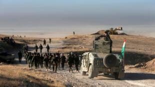 Forças Peshmerga avançam no leste de Mossul