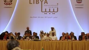 The Libya contact group meets in  Abou Dhabi earlier this month