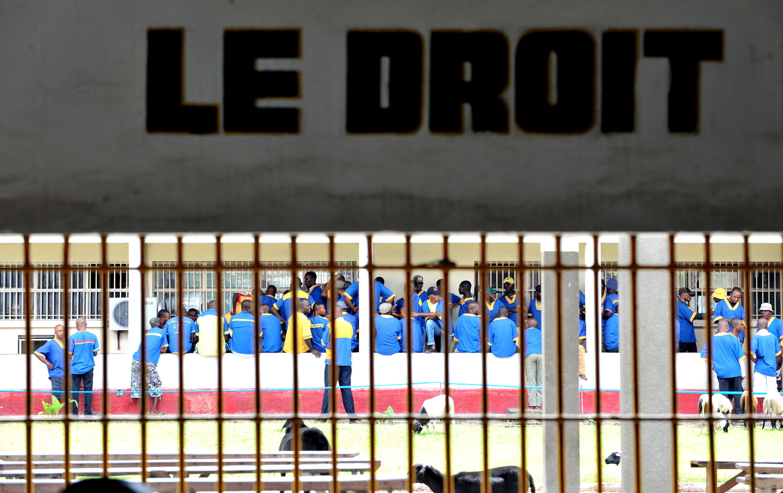 La prison centrale de Malaka, à Kinshasa (archive).