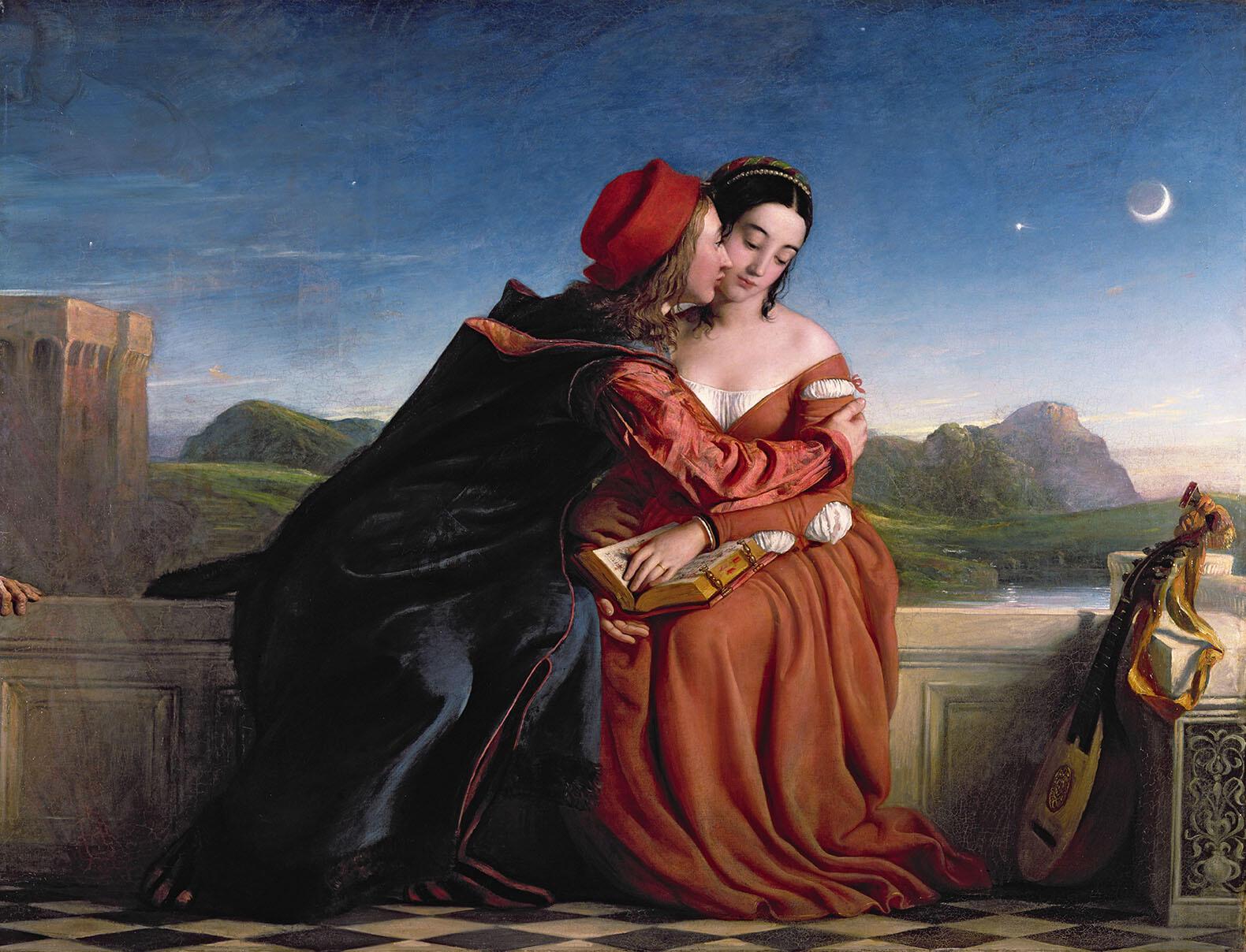 Уильям Дайс. «Франческа да Римини». 1837 год
