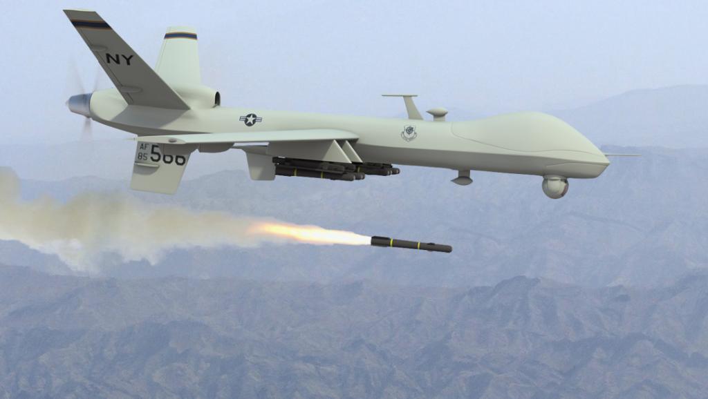 Un drone «Predator» de l'armée américaine.