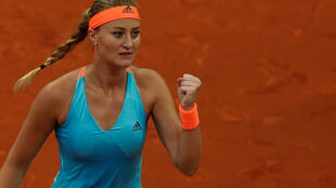 The French number one Kristina Mladenovic is into her fourth final of the year.
