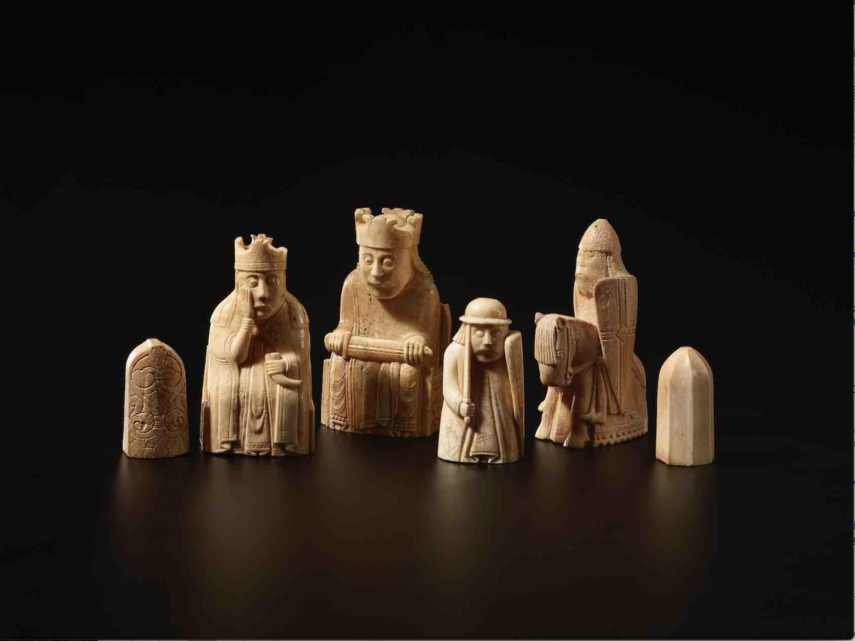 Ajedrez de Lewis, 1550-1175 D.C.