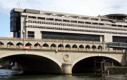 Le ministère de l'Économie et des Finances à Paris.