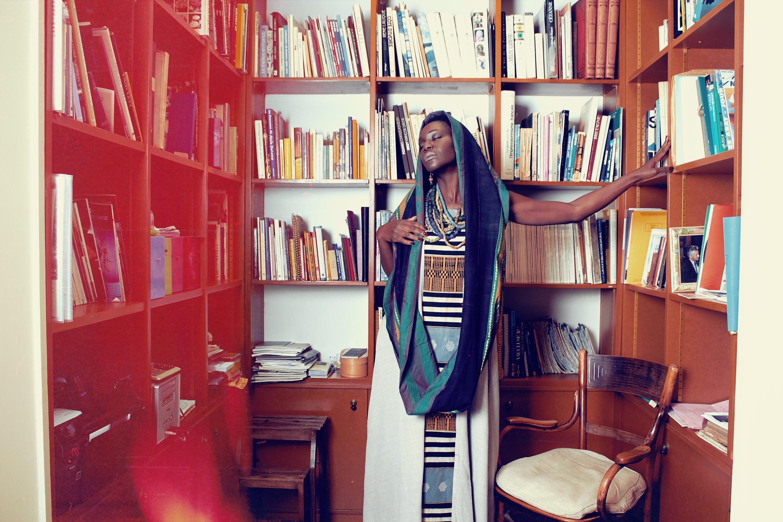 La marque Tiss'ame a été crée par une parisienne passionnée par les tissus africains.