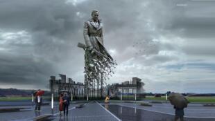 Проект ржевского мемориала советскому солдату