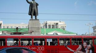 Памятник Ленину в Екатеринбурге