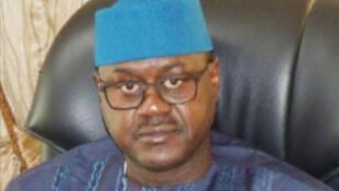 Maître Baber Gano, ministre des Transports et secrétaire général du Rassemblement pour le Mali (RPM), le parti au pouvoir (capture d'écran).