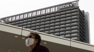 Sony issued a cautious forecast for the year ahead