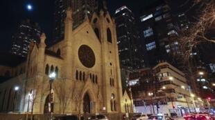 La cathédrale du Saint-Nom de Chicago, le 9 décembre 2018.
