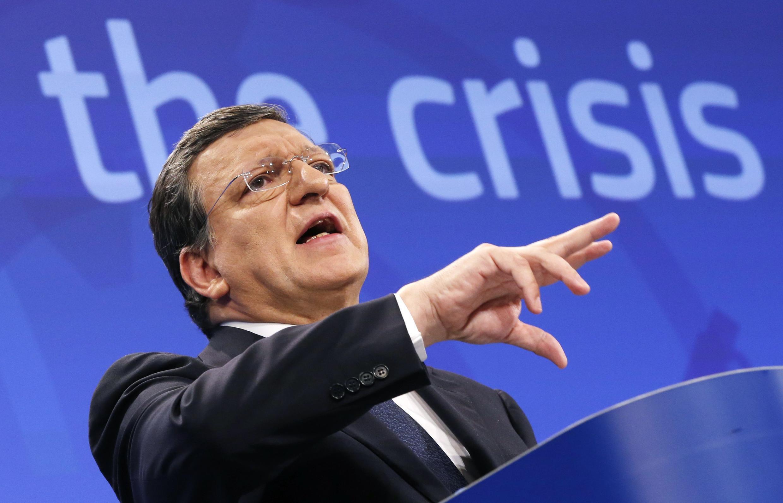 Jose Manuel Barroso, le 29 mai 2013 à Bruxelles, à l'époque où il présidait la Commission européenne.