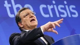 El presidente de la Comisión Europea, José Manuel Durão Barroso, este 29 de mayo de 2013 en Bruselas.