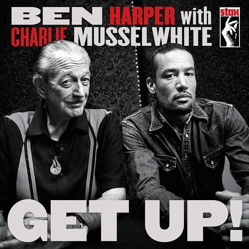 Carátula del disco de Ben Harper 'Get Up !', grabado en colaboración con Mussel White.