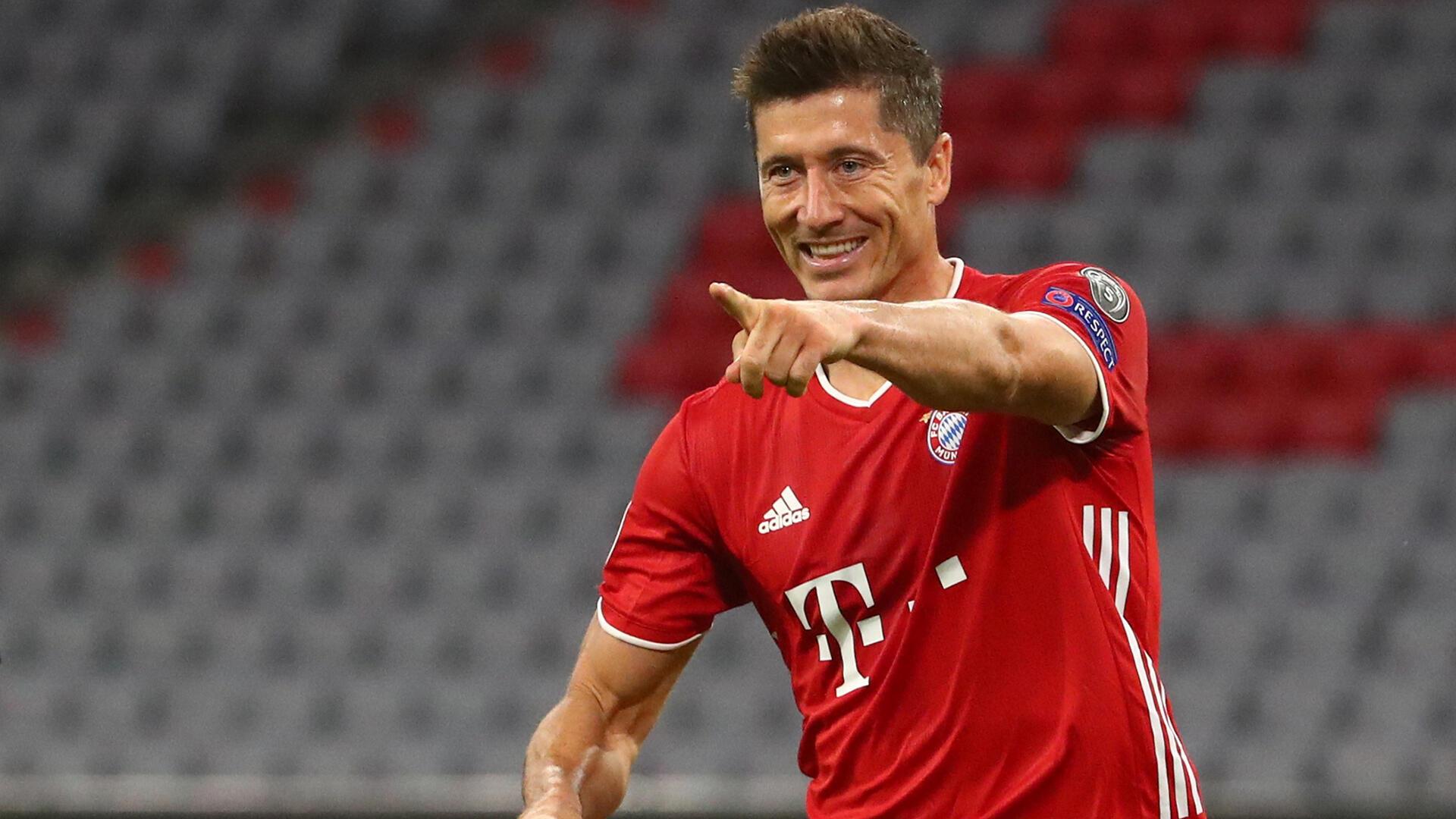 Robert Lewandowski ya taka muhimmiyar rawa wajen neman wa Bayern Munich gurbi a wasan karshe na gasar zakarun Turai.