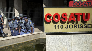 Les locaux de la confédération syndicale sud-africaine Cosatu, à Johannesburg. (Photo d'illustration)